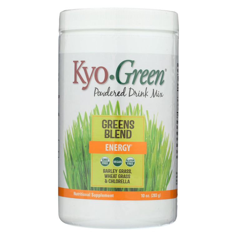 Kyolic Kyo-green Energy Powdered Drink Mix - 10 Oz