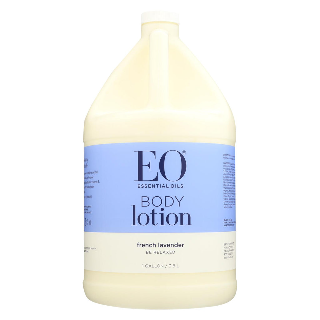 Eo Products Everyday Body Lotion French Lavender - 1 Gallon