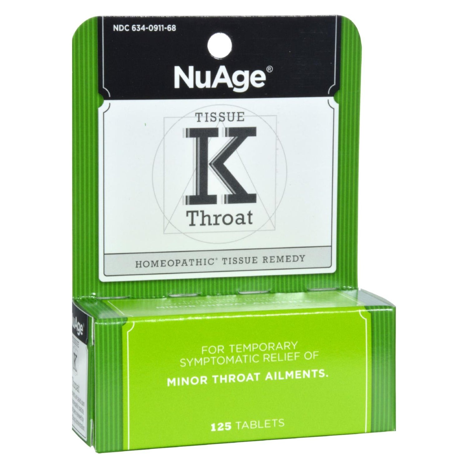 Hyland's Tissue K Throat - 125 Tablets