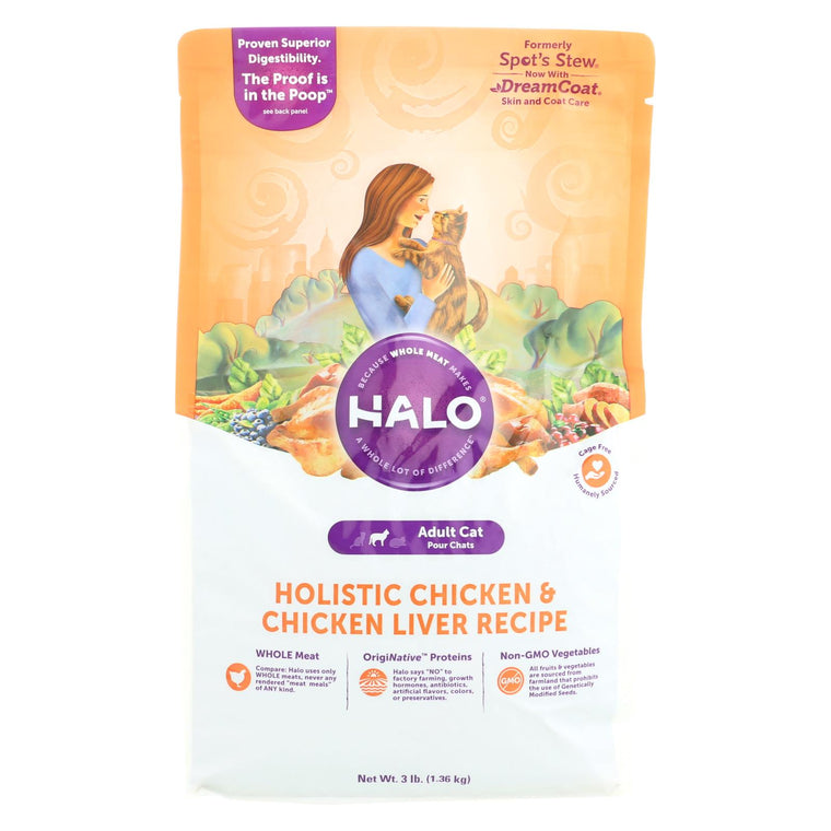 Halo Purely For Pets Spots Stew - Cat - Wholesome Chicken - Case Of 6 - 3