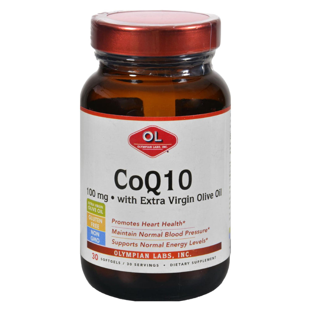 Olympian Labs Coenzyme Q10 - 100 Mg - 30 Softgels
