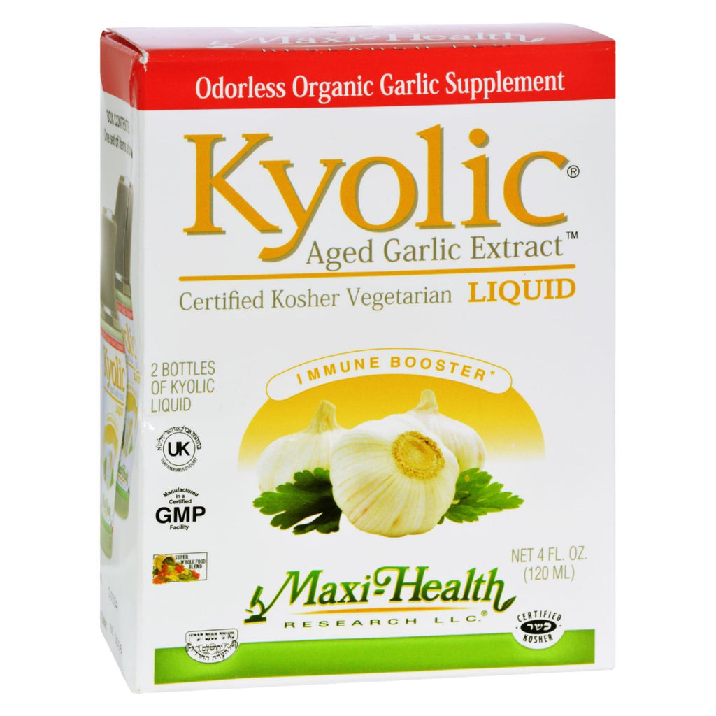 Maxi Health Maxi Kyolic Liquid - 4 Oz