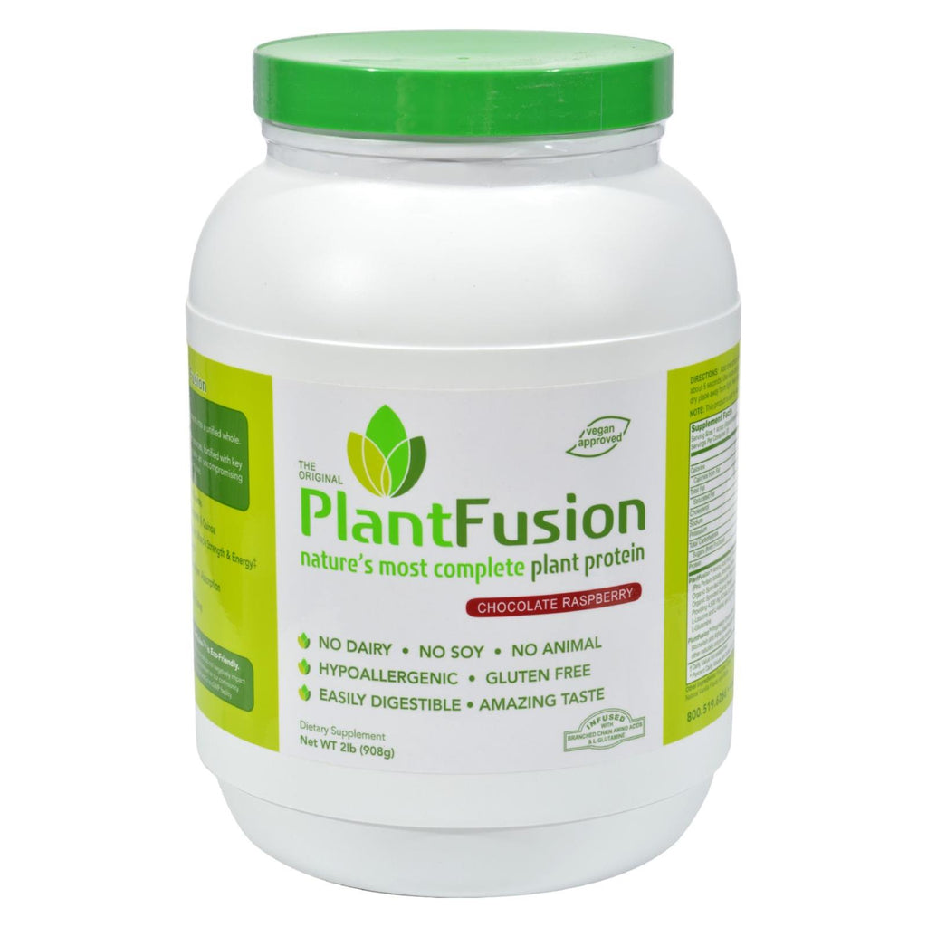 Plantfusion Nature's Most Complete Plant Protein - Chocolate Raspberry - 2 Lb.