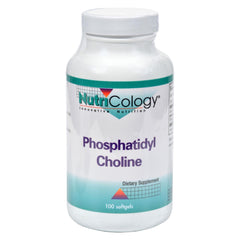 Nutricology Phosphatidyl Choline - 100 Softgels