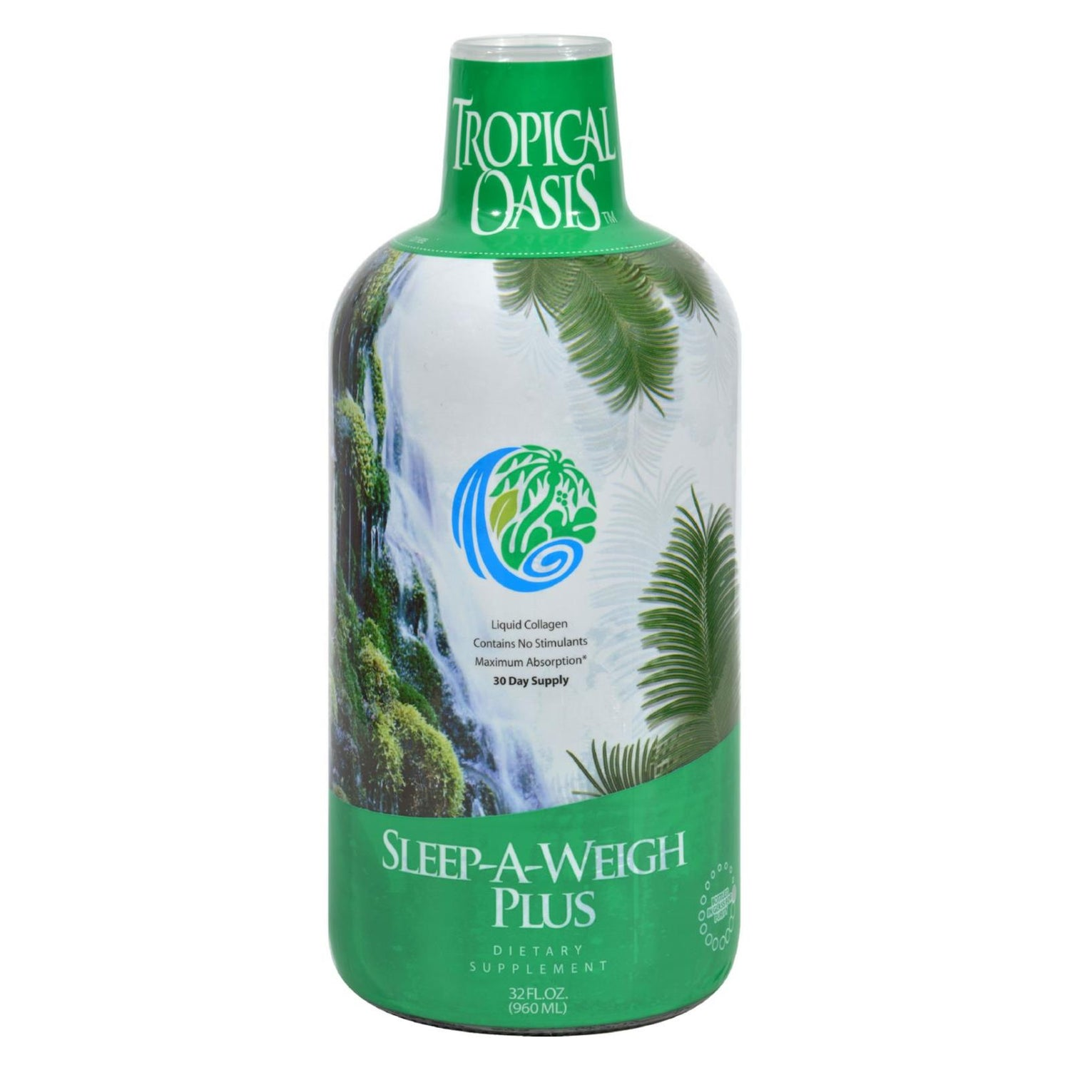 Tropical Oasis Sleep-a-weigh Plus - 32 Fl Oz