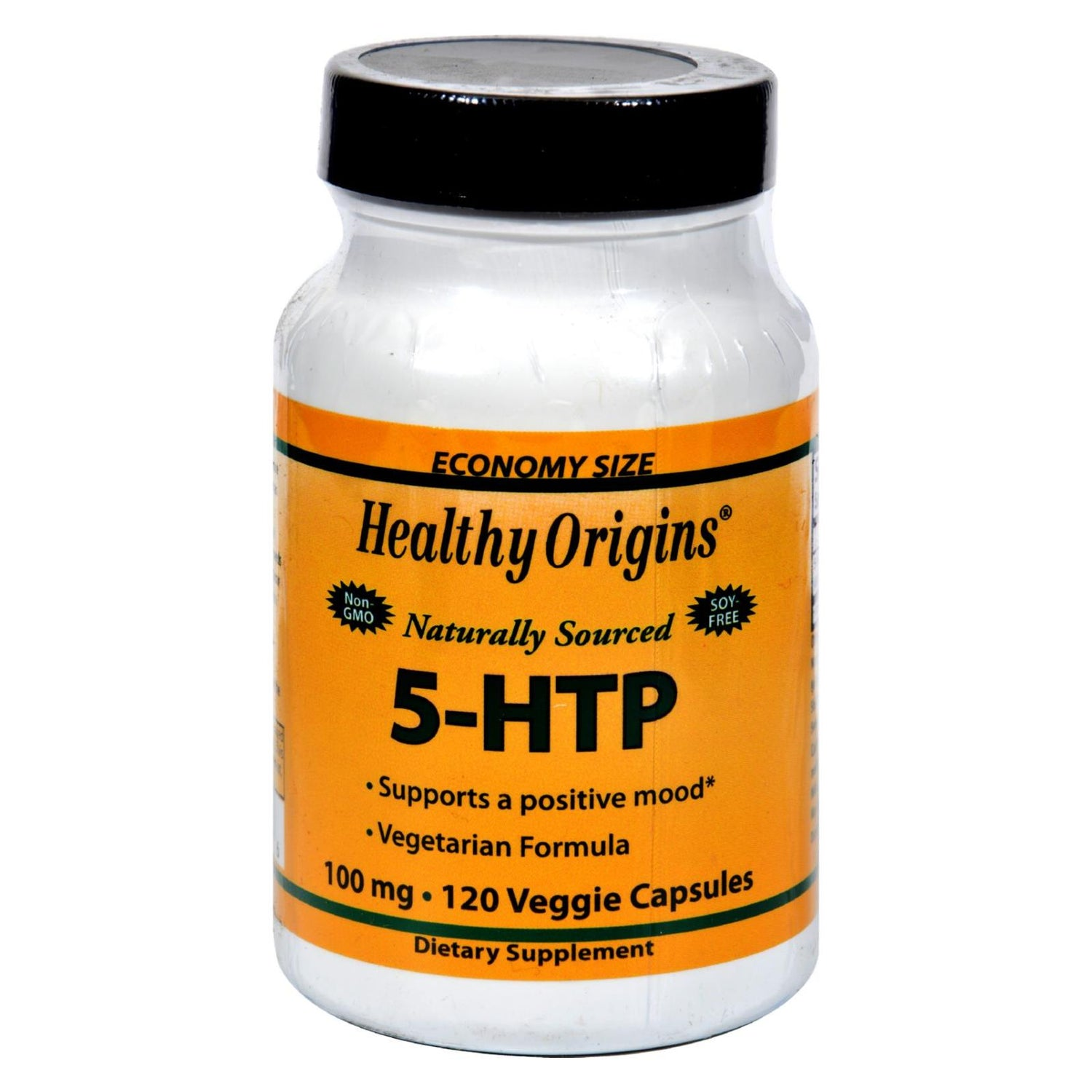 Healthy Origins Natural 5-htp - 100 Mg - 120 Capsules