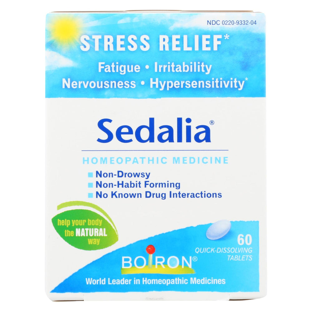 Load image into Gallery viewer, Boiron Sedalia Stress - 60 Tablets