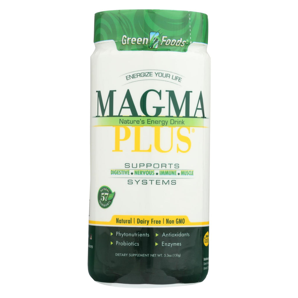 Green Foods Magma Plus Powder - 5.3 Oz