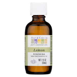 Load image into Gallery viewer, Aura Cacia Essential Oil - Lemon - 2 Fl Oz