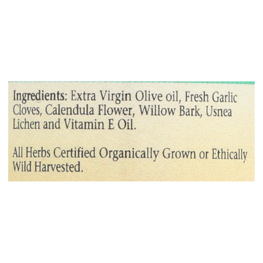 Herbs For Kids Willow And Garlic Ear Oil - 1 Fl Oz
