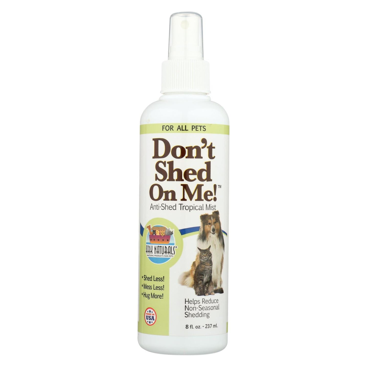 Ark Naturals Don't Shed On Me - 8 Fl Oz