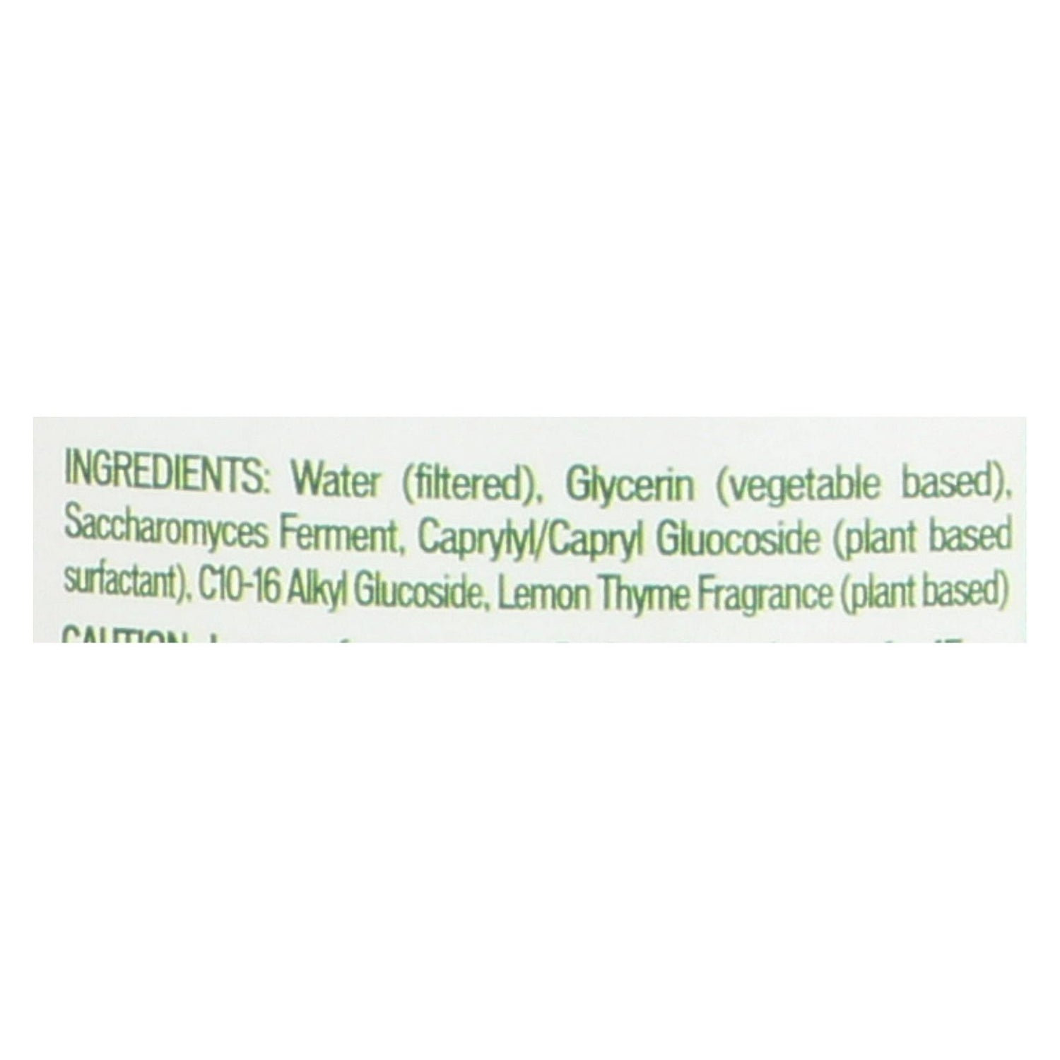 Biokleen Bac-out Fresh Natural Fabric Refresher - Lemon Thyme - Case Of 6 - 16 Oz