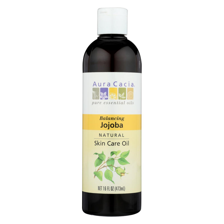 Aura Cacia - Skin Care Oil - Jojoba - 16 Oz.
