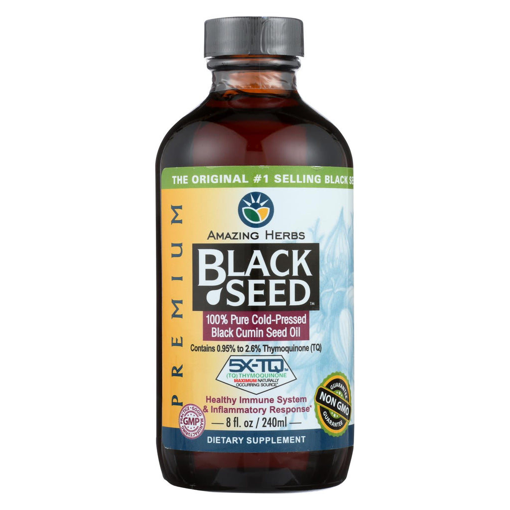 Amazing Herbs Black Seed Oil - 8 Fl Oz