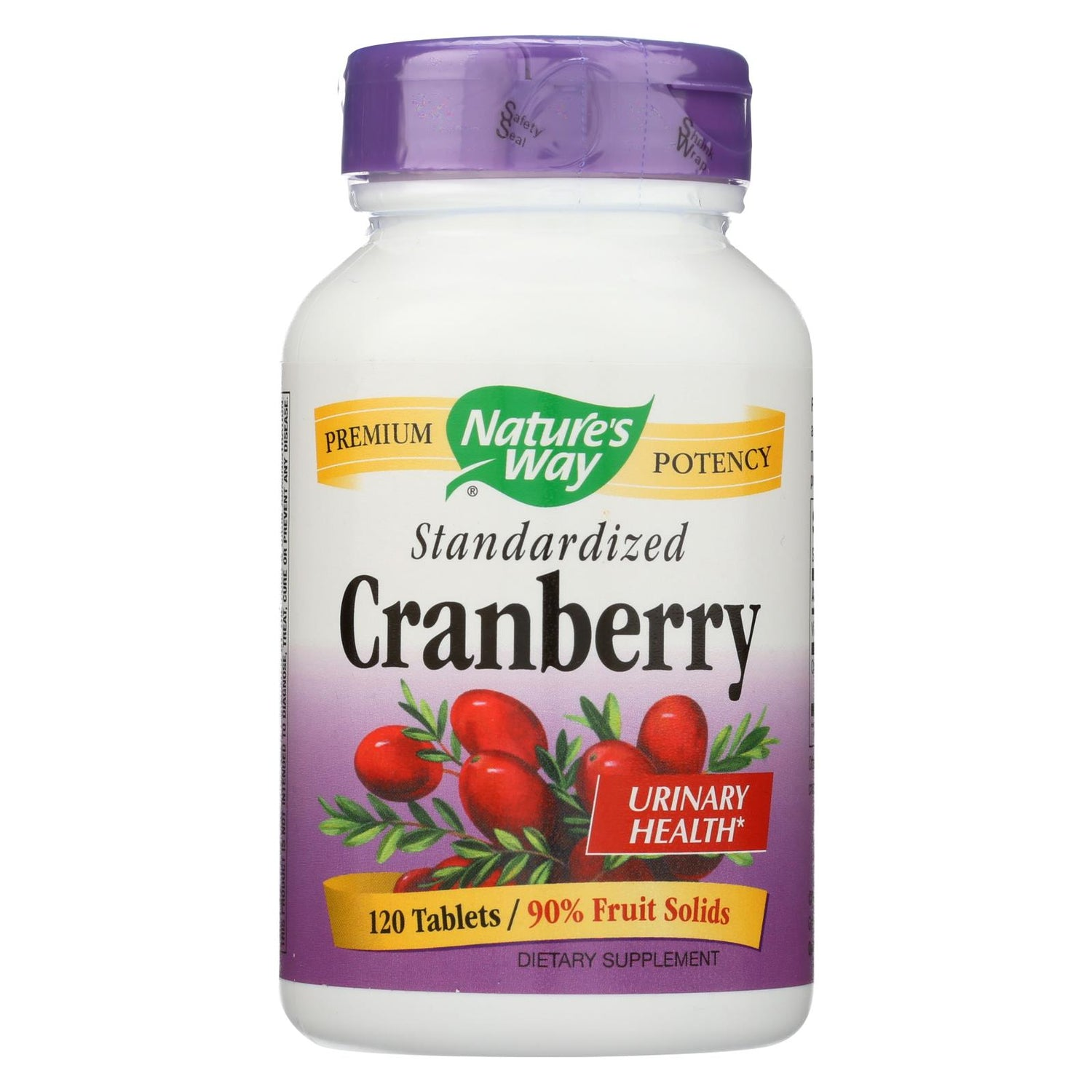 Nature's Way Cranberry Standardized - 120 Tablets