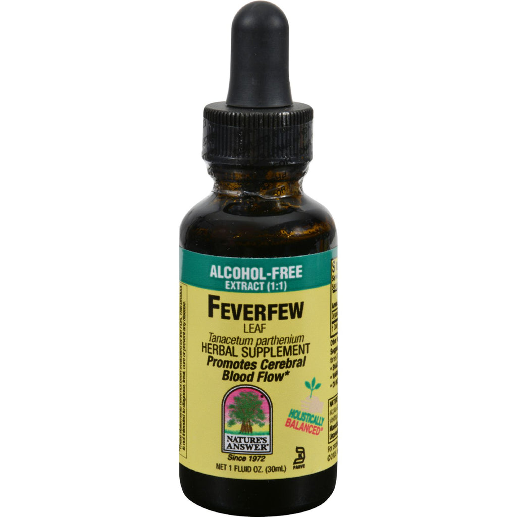 Nature's Answer Feverfew Leaf Alcohol Free - 1 Fl Oz