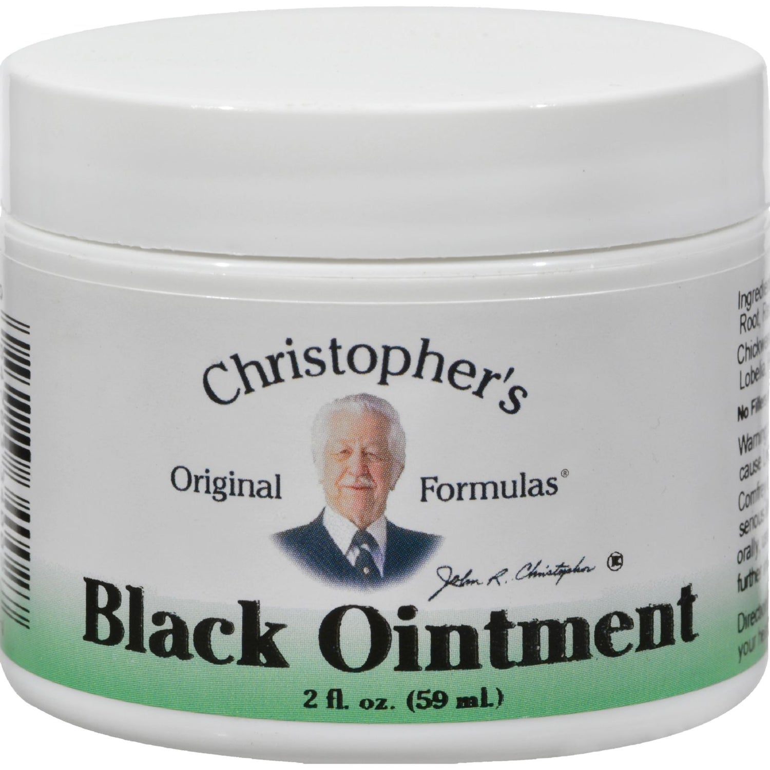 Dr. Christopher's Original Formulas Black Ointment - 2 Oz
