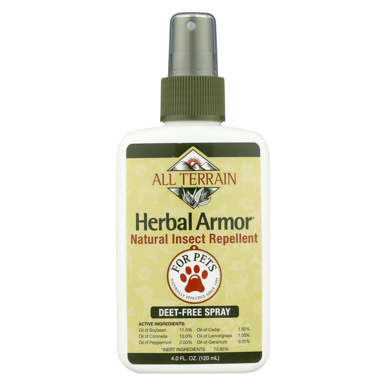 All Terrain Pet Herbal Armor Insect Repellent - 4 Fl Oz