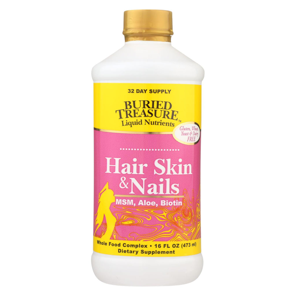 Buried Treasure Hair Skin And Nails Complete - 16 Fl Oz