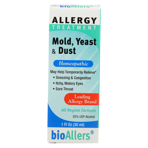 Load image into Gallery viewer, Bio-allers Allergy Treatment Mold Yeast And Dust - 1 Fl Oz