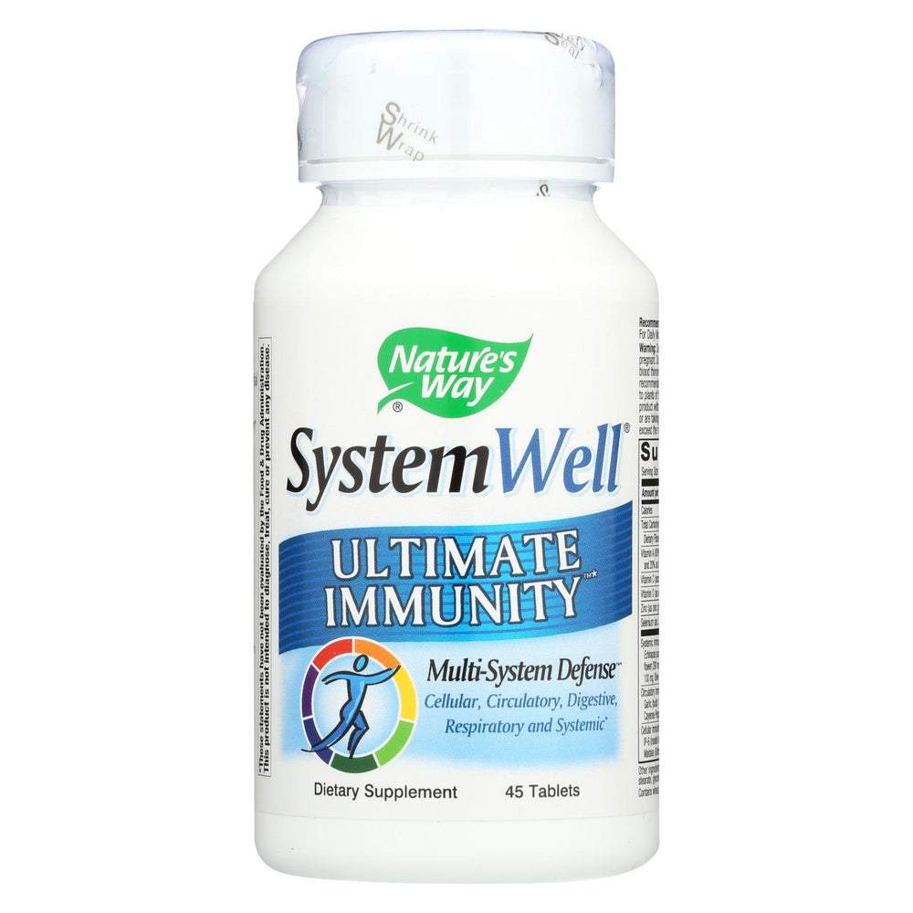 Nature's Way Systemwell Immune System - 45 Tablets