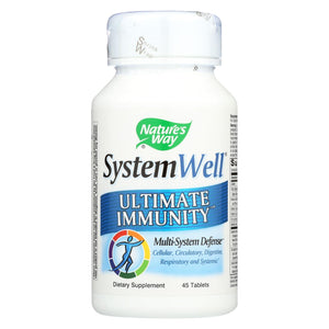 Load image into Gallery viewer, Nature's Way Systemwell Immune System - 45 Tablets