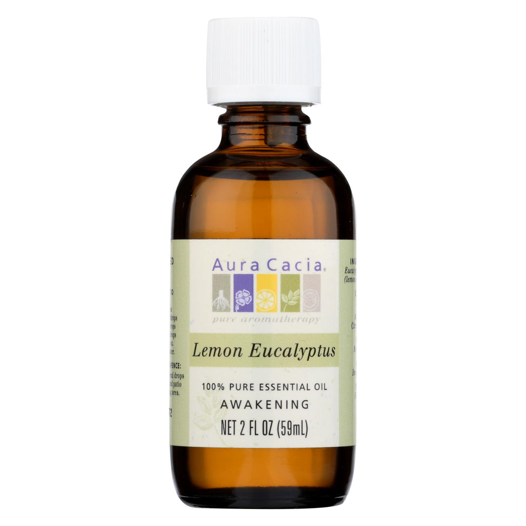 Aura Cacia Essential Oil Lemon Eucalyptus - 2 Fl Oz
