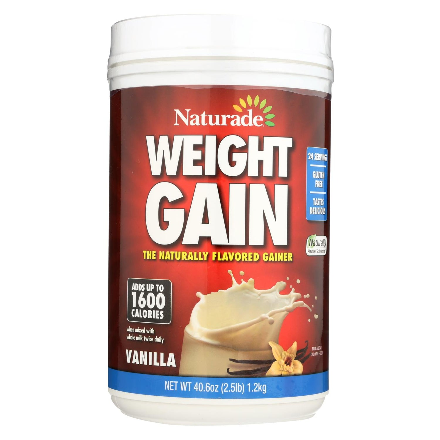 Naturade Weight Gain Vanilla - 40 Oz