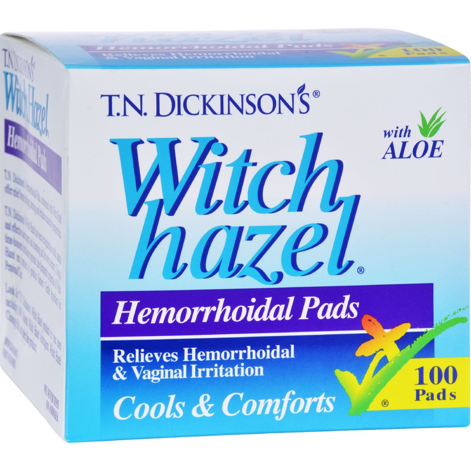 Dickinson Brands Hemorrhoidal Pads - 100 Pads