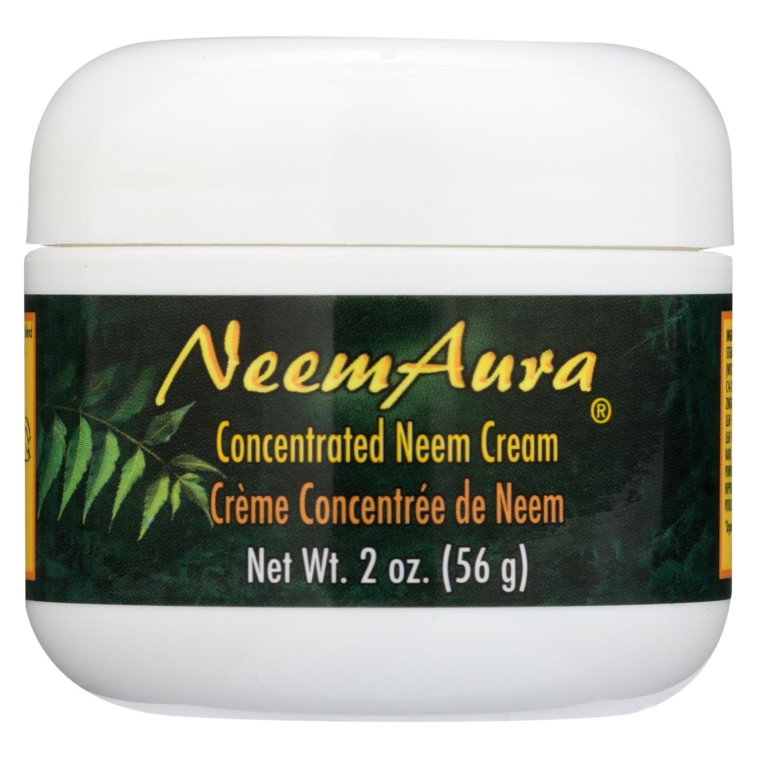 Neem Aura Neem Creme With Aloe And Neem Oil - 2 Oz