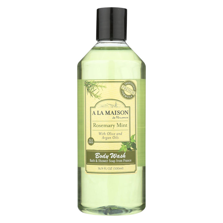 A La Maison Body Wash - Rosemary Mint - 16.9 Fl Oz.