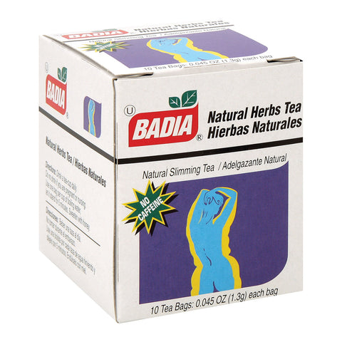 Badia Spices Natural Herb Tea Bag - Case Of 20 - 10 Bags