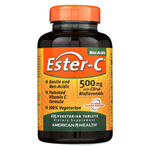 Load image into Gallery viewer, American Health Ester-c With Citrus Bioflavonoids - 500 Mg - 225 Vegetarian Tablets