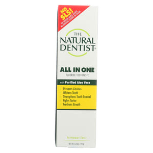 Load image into Gallery viewer, Natural Dentist Anti-cavity Toothpaste Original Peppermint Twist - 5 Oz