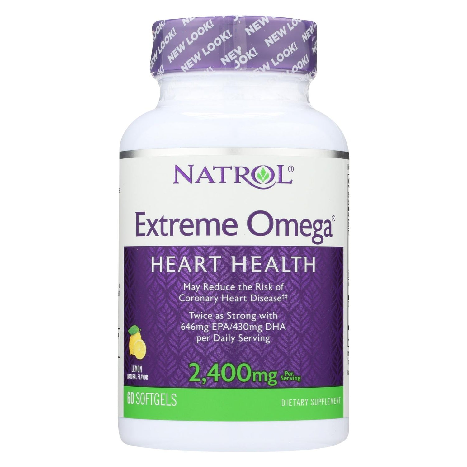Natrol Extreme Omega - 1200 Mg - 60 Softgels