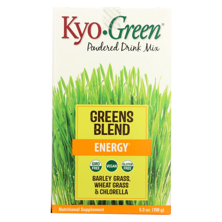 Kyolic Kyo-green Energy Powdered Drink Mix - 5.3 Oz