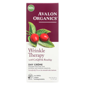 Load image into Gallery viewer, Avalon Organics Coq10 Repair Wrinkle Defense Creme Spf 15 - 1.75 Oz