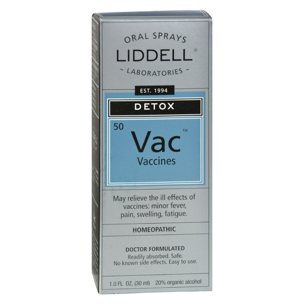 Liddell Homeopathic Anti-tox Vaccine - 1 Fl Oz