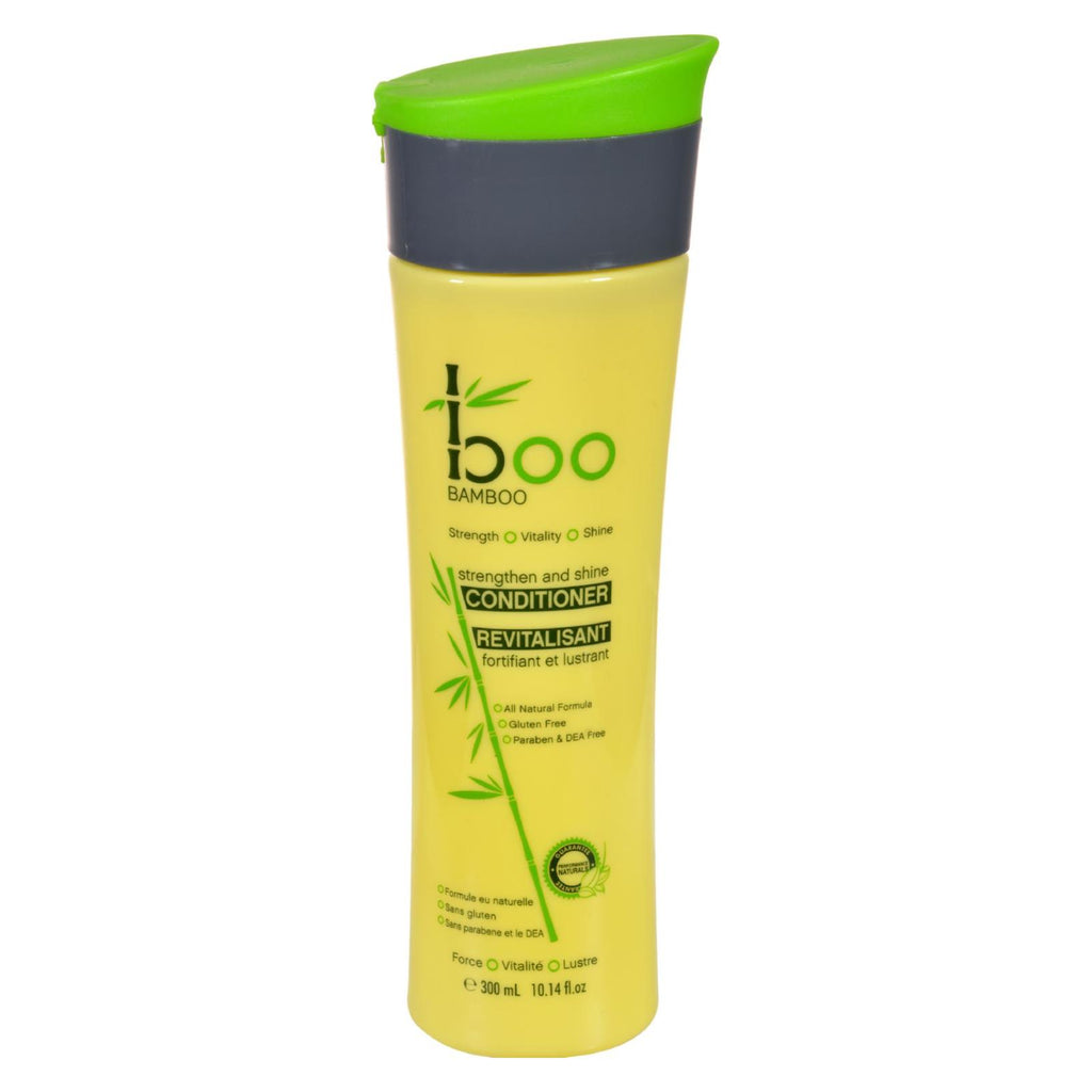 Boo Bamboo Conditioner - Strength And Shine - 10.14 Oz