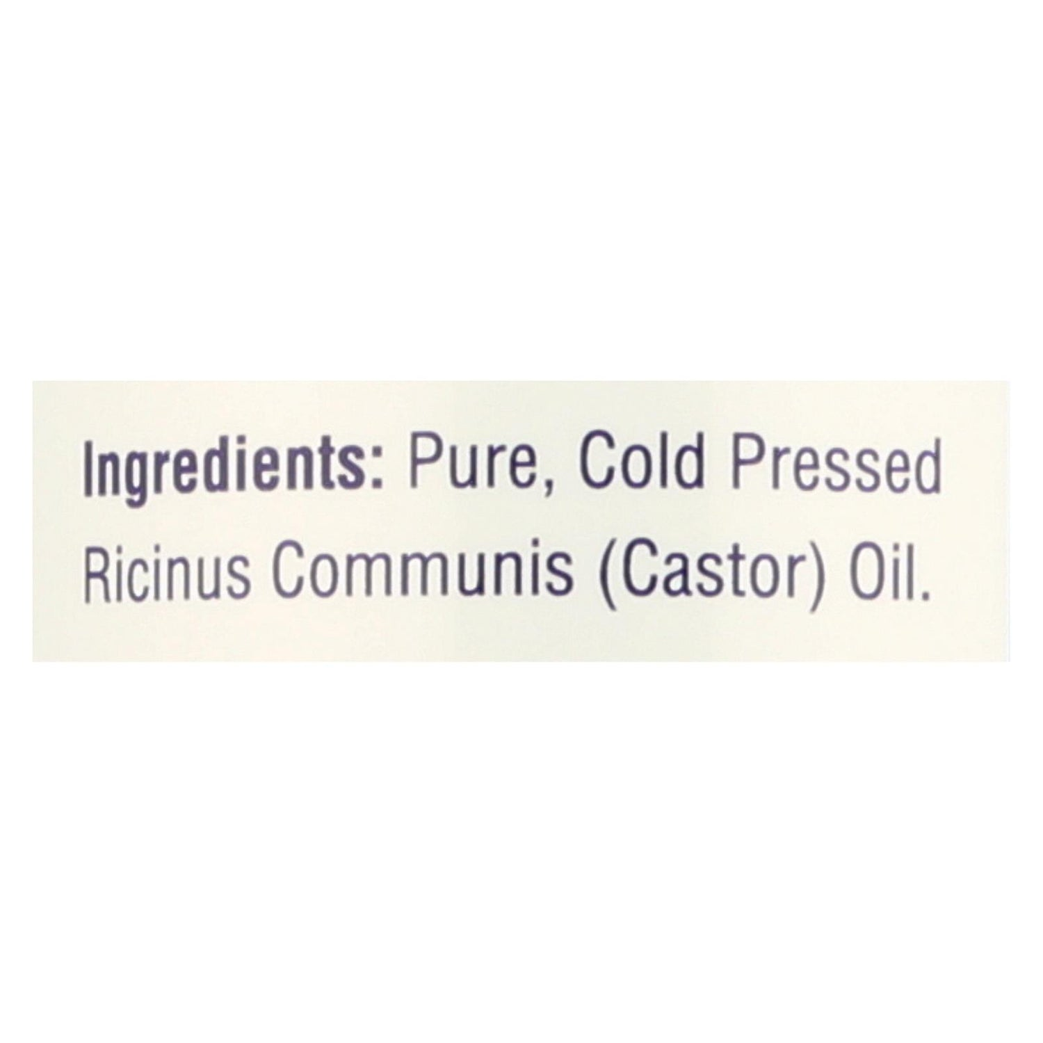 Heritage Products Castor Oil Hexane Free - 16 Fl Oz