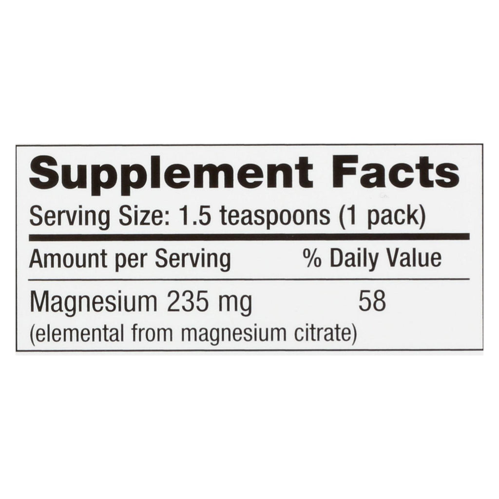 Natural Vitality Calm Counter Display - Raspberry Lemon - Case Of 8 - 5 Packs