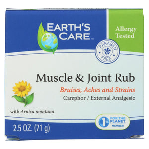 Load image into Gallery viewer, Earths Care Muscle And Joint Rub - 2.5 Oz