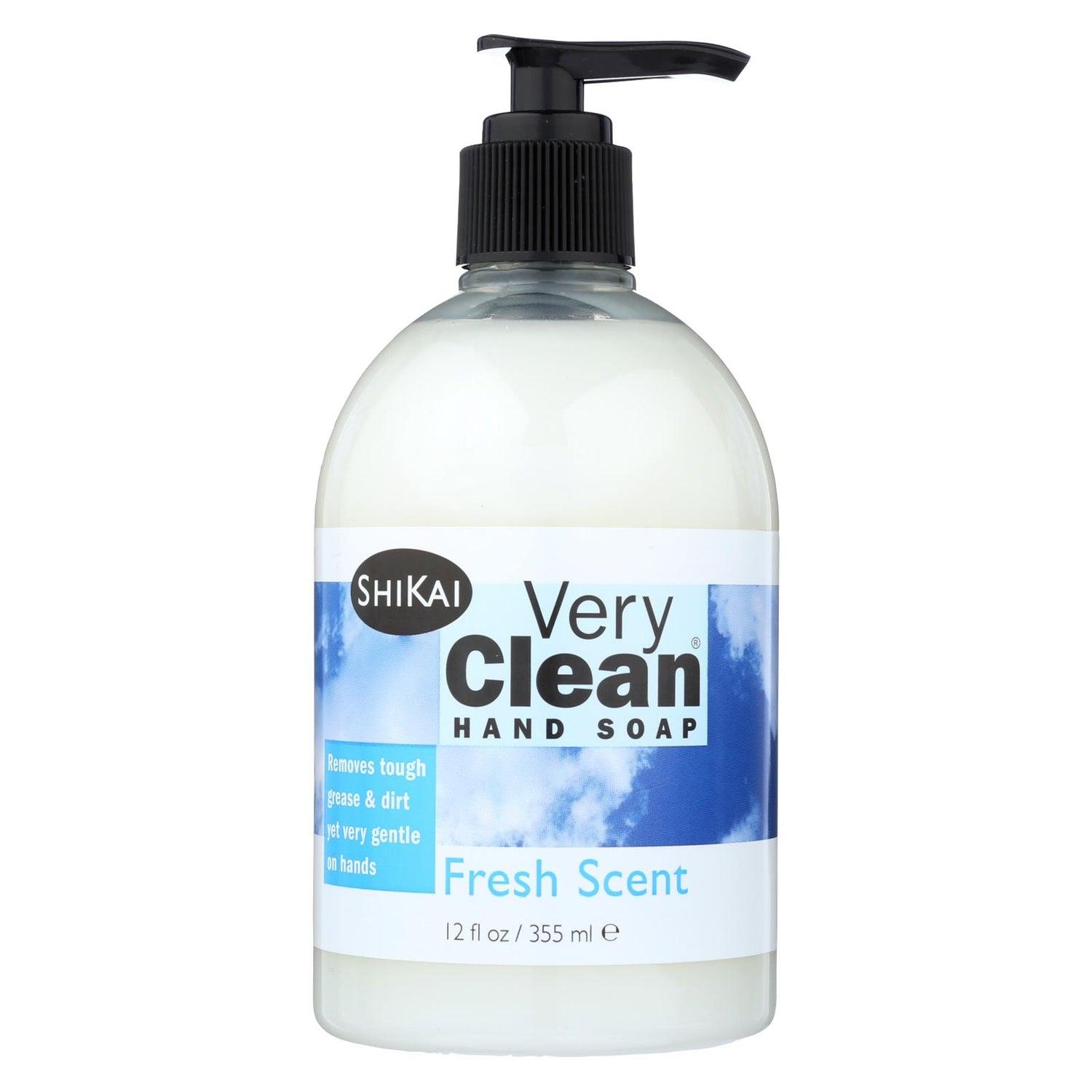 Shikai Products Hand Soap - Very Clean Fresh Scent - 12 Oz