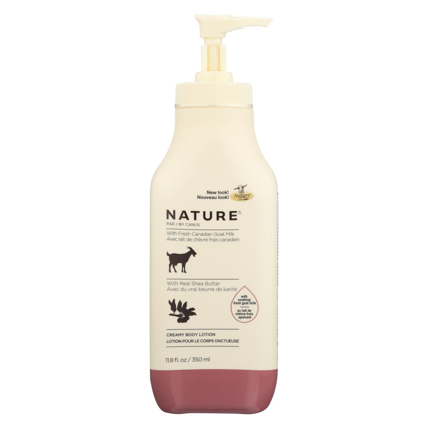 Nature By Canus Lotion - Goats Milk - Nature - Shea Butter - 11.8 Oz