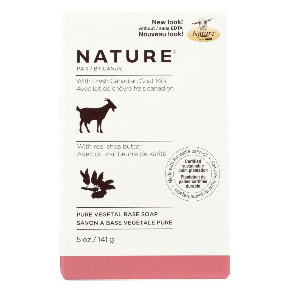 Nature By Canus Bar Soap - Nature - Shea Butter - 5 Oz