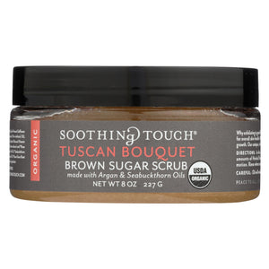 Load image into Gallery viewer, Soothing Touch Scrub - Organic - Sugar - Tuscan Bouquet - 8 Oz