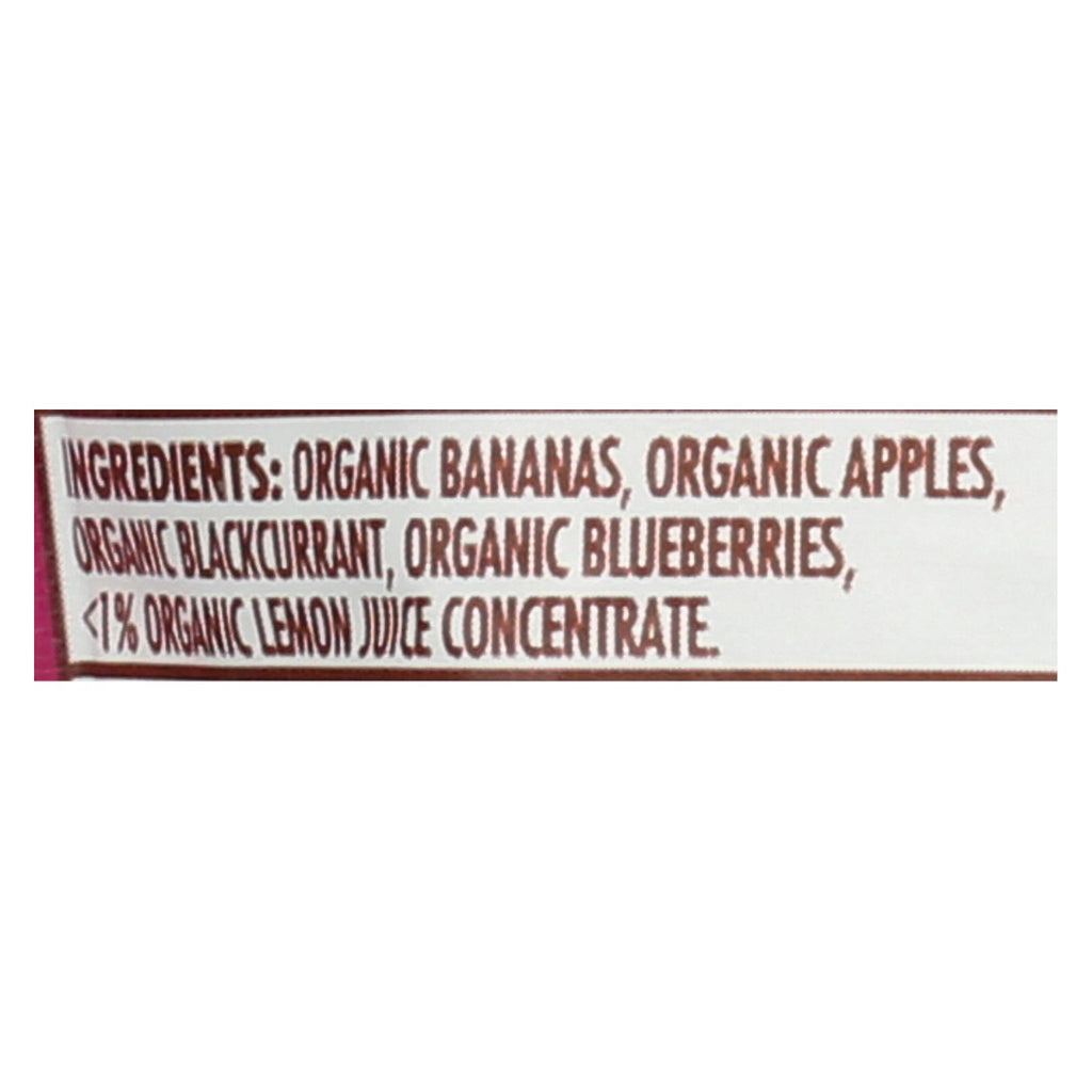 Ella's Kitchen Smoothie Fruits - Purple - Case Of 12 - 3 Oz.