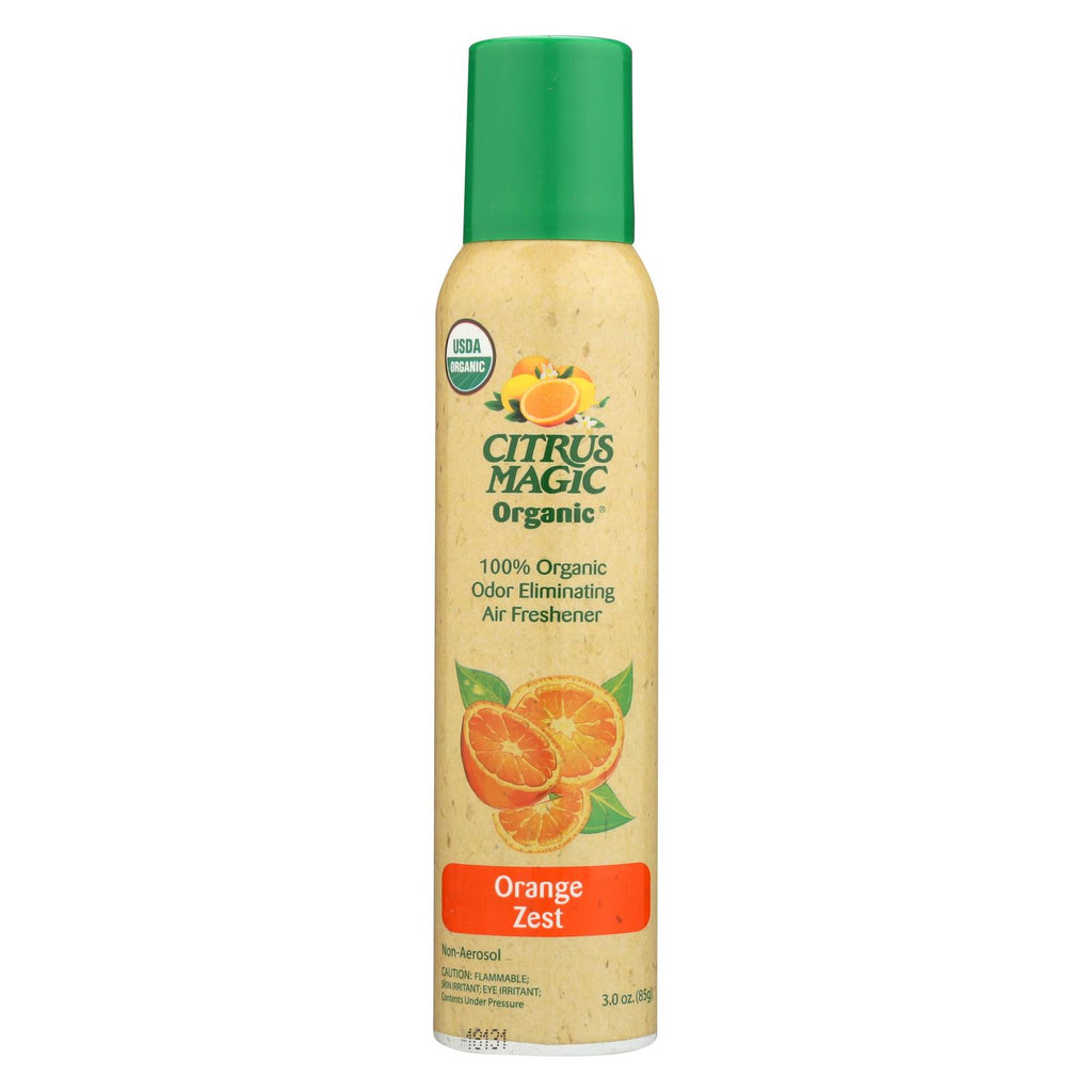 Citrus Magic Air Freshener - Odor Eliminating - Spray - Fresh Orange - 3.5 Oz