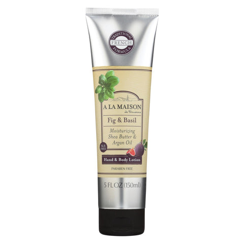 A La Maison - Hand And Body Lotion Fig And Basil - 5 Fl Oz.