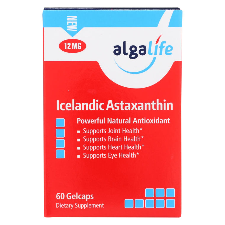 Algalife Usa Icelandic Astaxanthin 12mg - 60 Count